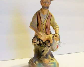 Hobo With a Nail in His Foot   Statue Made in Portugal     Circa 1970  bx8 ID485821621