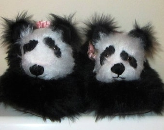 Kids Panda Slipper Made to Measure Kids Comfy Slippers Made to Order Boy Special Gift Girls Present Grandparent Gift Family Present Fun Gift