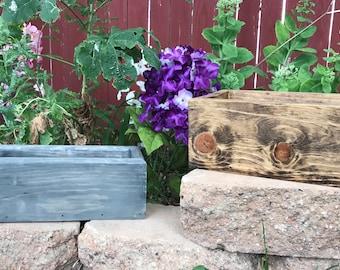 Planter box, Mason Jar Box