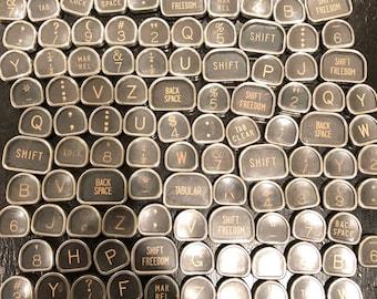 Royal Tombstone Vintage TYPEWRITER Keys Lot 100 Keys Lot 2