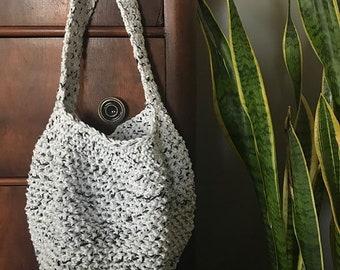 Reusable Market Grocery Bag // Salt & Pepper