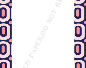 Personalized Modern notepad set (two) personalized -Monogram- Initial- Name