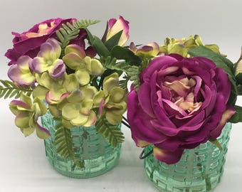 rustic silk flowers,wildflower bouquet,home decor,flower arrangement,artificial flowers,fake flowers in vase,fake flowers,silk wildflowers