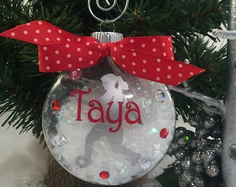 Soccer Girl Ornament, Soccer Gifts, Home Decor, Personalized Ornament