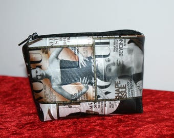 Vogue - within 15 days printed leather wallet