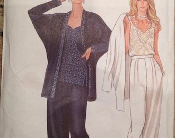 Vintage simplicity pattern 6314 New Look, US sizes 8-18, Eur sizes 34-44, uncut pattern with instructions, misses pants, jacket & top