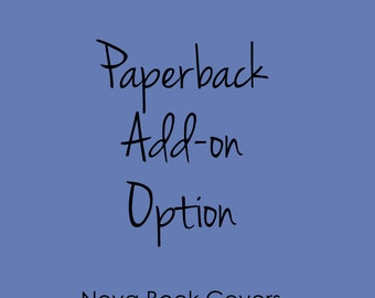 OPTION- Add paperback cover to a premade eBook cover