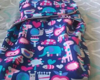 Elephants & Giraffes Baby Sleeping Bag