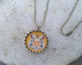 Jewelry - pendant recycled beer Cap