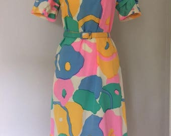 1960s Op Art Dress