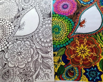 Body Power Coloring Book by Hinarera Lambert (34 Pages)