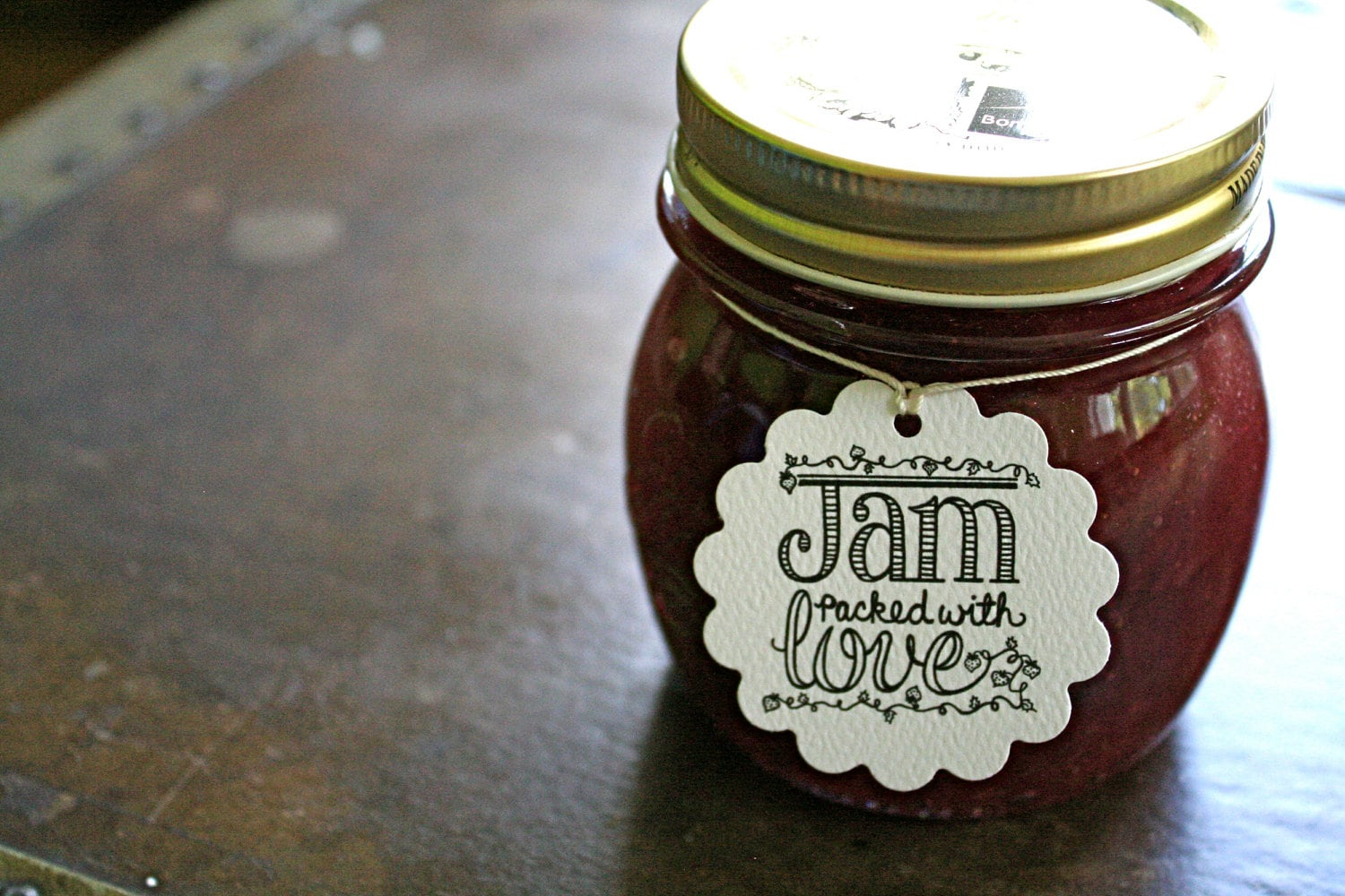 wedding favor tags canning tags set of 20 jam packed with