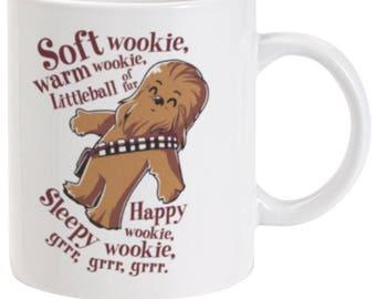 Soft Wookie, Warm Wookie Cult Ceramic Mug