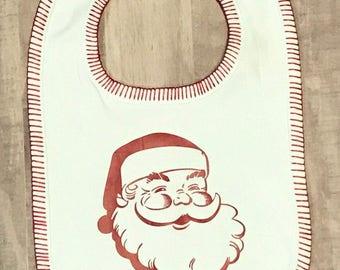 Santa Claus Baby Bib