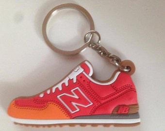 New balance 574 ML red orange Keychain keychain