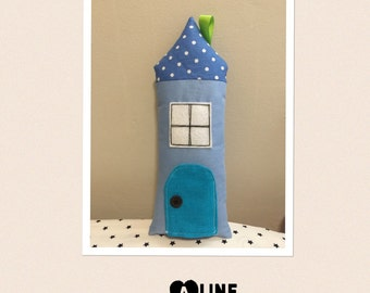 Tooth fairy house pillow
