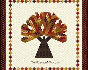 Big Tree quilt pattern