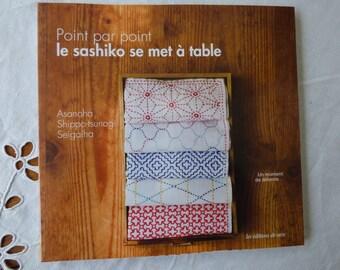 Sashiko book starts at table edition of Saxony
