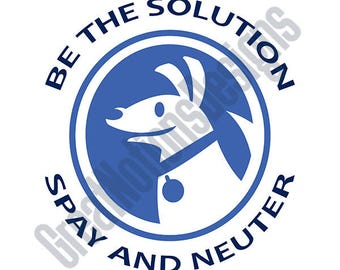 Spay And Neuter SVG - HTV - Vinyl Cutting Graphic Art