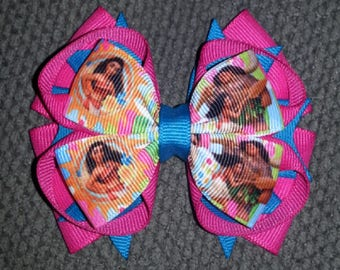 Moana Stacked Boutique Bow