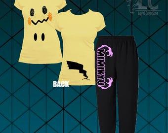 Pokemon-Mimikyu Pajamas