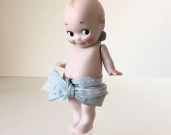 Antique Rose O'Neill Bisque Kewpie Doll