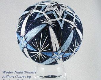 Temari Short Course Winter Night by Barbara B. Suess