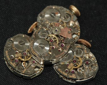 Vintage Antique small Watch Movements Steampunk RT 31