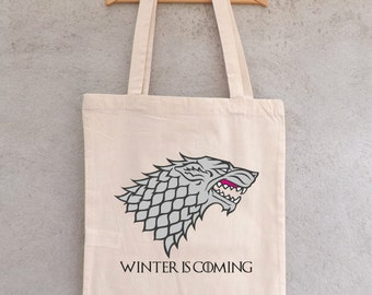 "Tote Bag ""Winter is Coming"" - shopping bag"