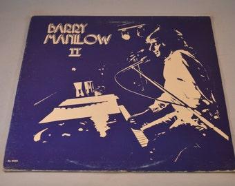 Vintage Record Barry Manilow II Album AL-4016