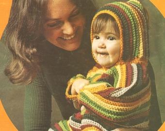 Baby Bundling Crochet Pattern Instructions PDF
