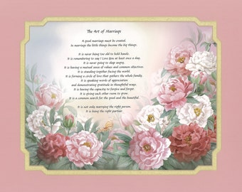 Anniversary Poem-The Art of Marriage