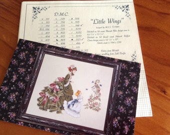 Lavender and Lace Victorian Cross Stitch Design Pack - Morning Song