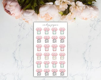 Kate Spade Vase Stickers