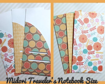 Midori Traveler's Notebook Folder | InkWELL Press A5 | FiloFax Folder | Louis Vuitton MM agenda Folder | Kikki-K Medium Folder