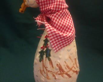 Christmas Goose gourd