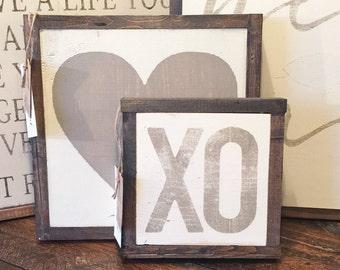 "9""X9"" MINI XO Sign"