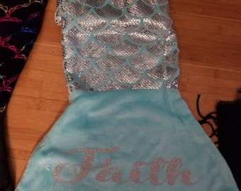 Mermaid Tail Personalized