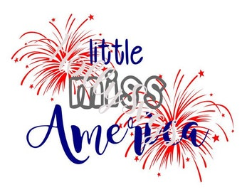 Little Miss America SVG file