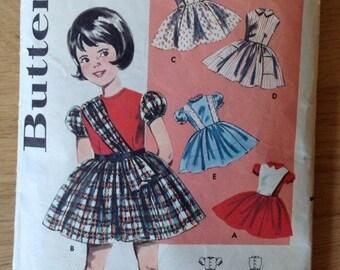 Girl's Dress Butterick 2130 - size 3