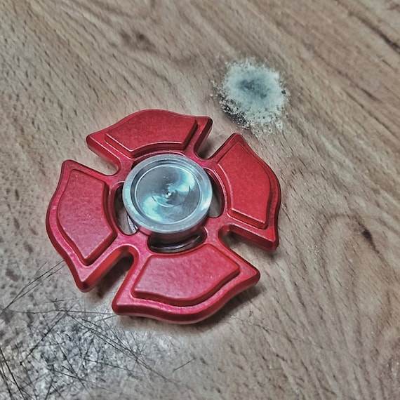 Custom aluminum Fire Downtime spinner, EMT, Firefighter, Medic