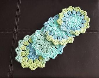 4 Handmade Coasters