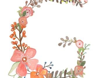 G - Floral Print