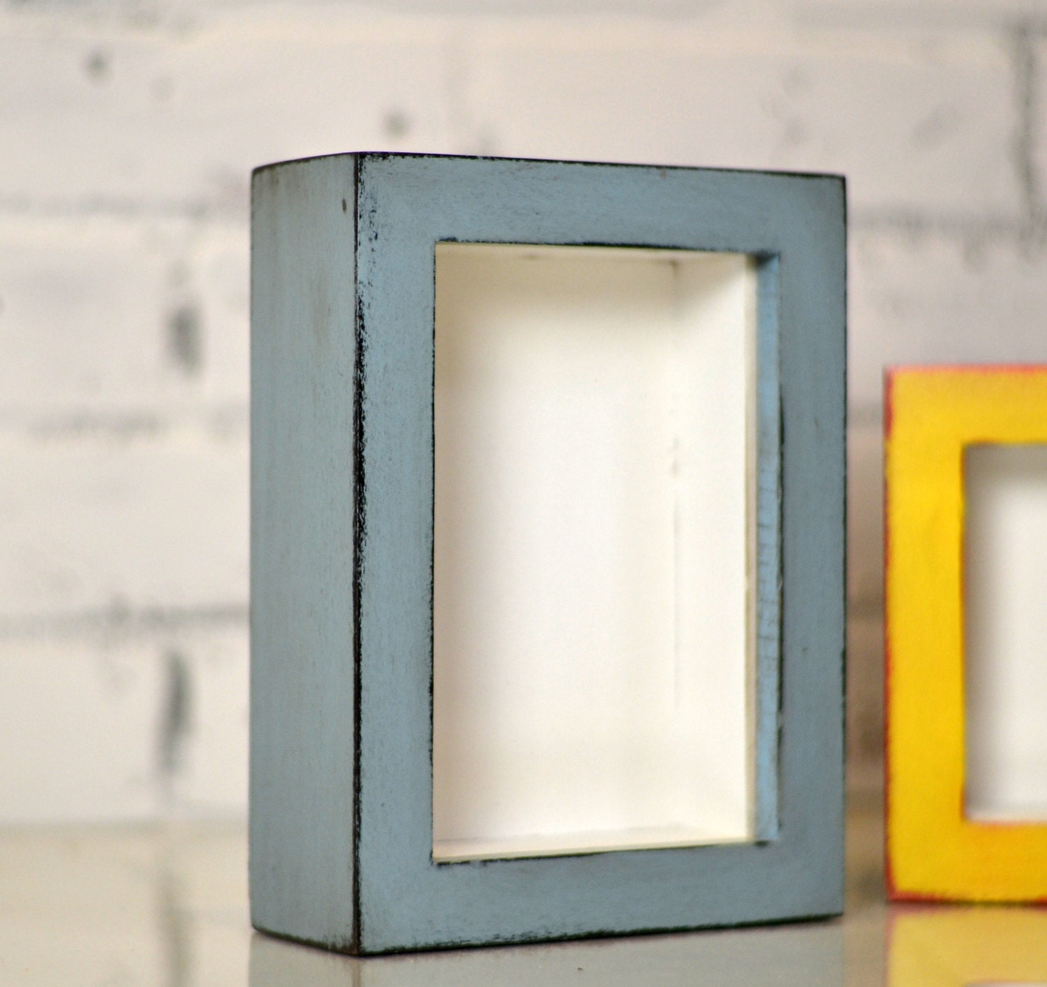 Handmade small shadow box frame holds up to 4 x 6 x 125 inches handmade small shadow box frame holds up to 4 x 6 x 125 inches deep in finish color of your choice 4 x 6 shadow box frame from signedandnumbered on jeuxipadfo Image collections