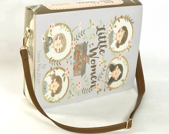 Little Women by Louisa May Alcott - Messenger Bag