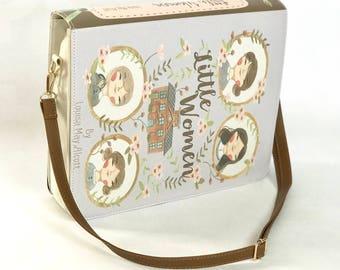 Little Women by Louisa May Alcott - Messenger Bag
