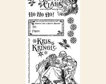 Graphic 45, St. Nicholas, Nicholas 3, Stamp Set, Retired