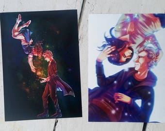 We're Looking For Someone - 12/Clara (Doctor Who) Art Prints/Set