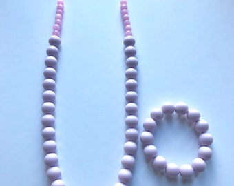 Sale- Light Lavender Pearl Style Set