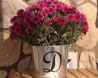 Personalized Galvanized Buckets